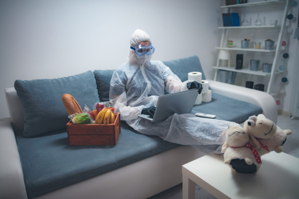 Online shopping during the pandemic in 2020